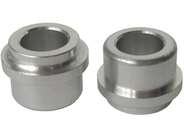 SR Suntour Aluminium Bushings voor 30mm dikte / 12,7mm zilver
